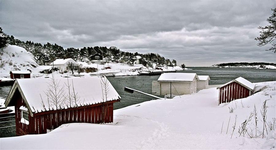 Flødevika vinter Foto: DagHenriksen