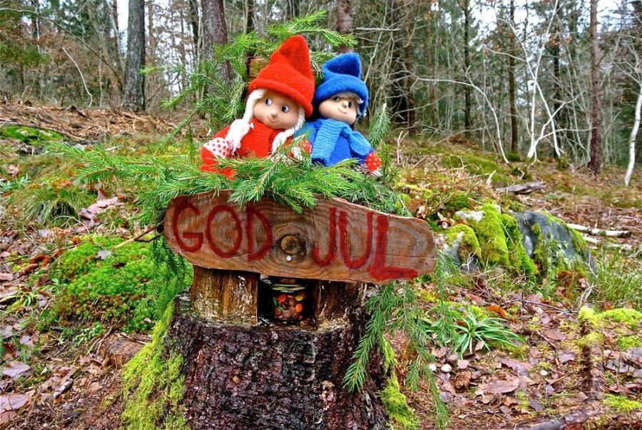 Jul i Heimarnæsskogen Foto: Ulrik S