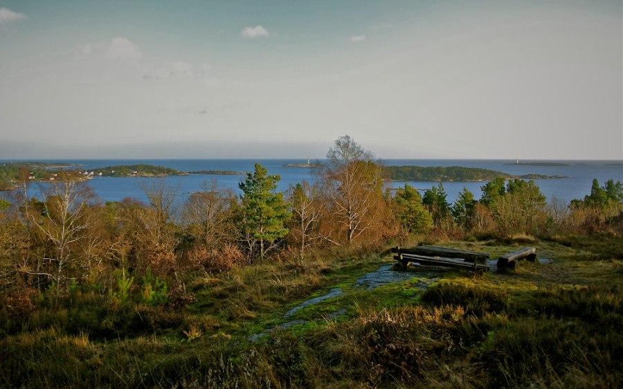 Toppen Boes utsikt Foto: Dag Henriksen