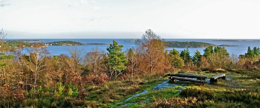 Utsikt fra Boesutsikt Foto: Dag Henriksen