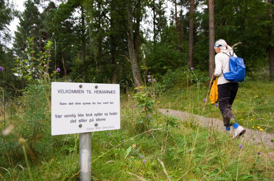 Velkommen til Heimarnæs foto: Dag Henriksen 2014