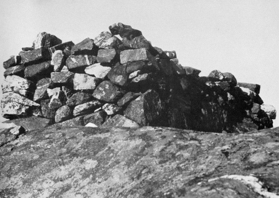 Loshytta på Havsøy Foto: Birger Dannevig