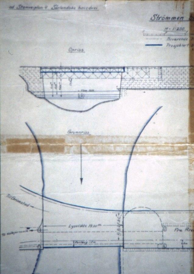 Grunnriss Strømbroa