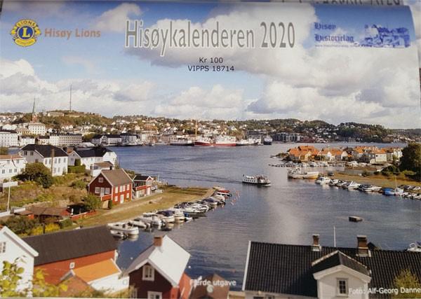 Hisøykalender 2020 forside